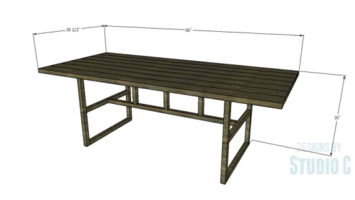 dining tables,furniture,kitchen tables,diy,free woodworking plans,free projects,do it yourself