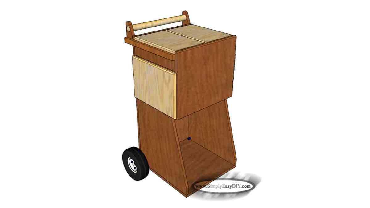 Air Compressor Cart free project