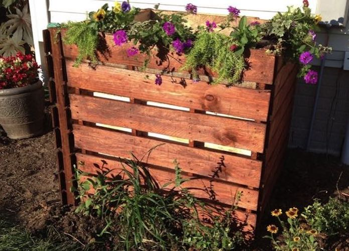 Learn how to build a Compost Bin by Bob Vila.
