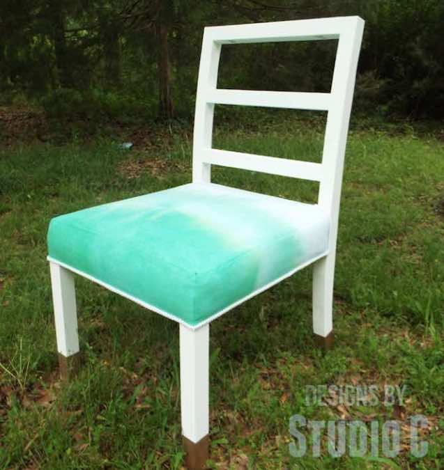 Build a Dining Chair with Curved Legs using free plans.