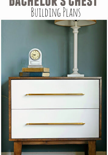 Free plans to build a Bachelors Chest Night Stand.