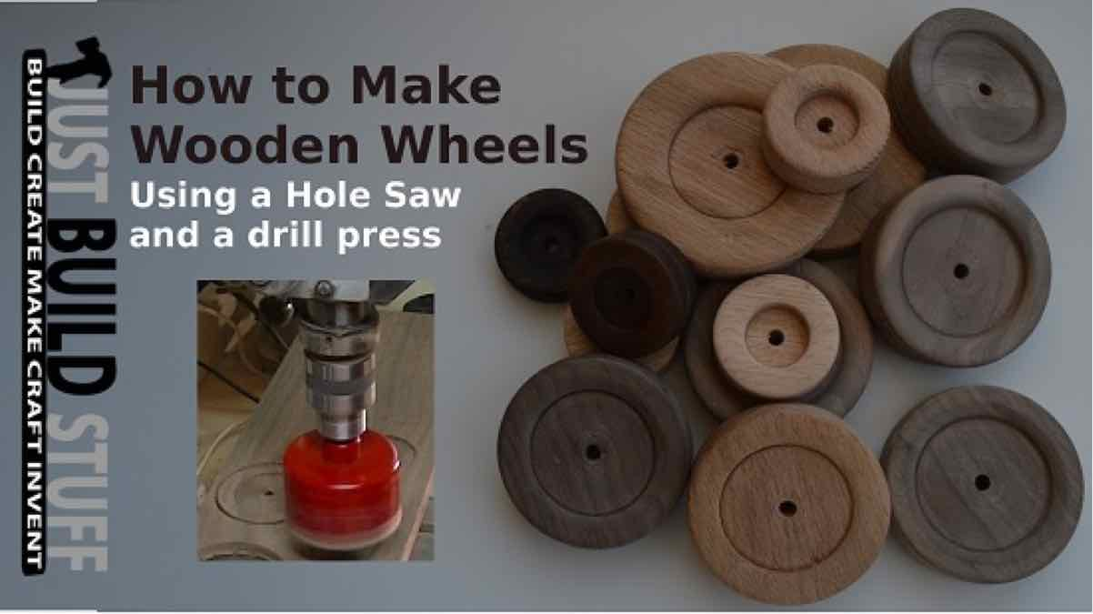 wooden wheels,toy wheels,diy,free woodworking plans,free projects,do it yourself