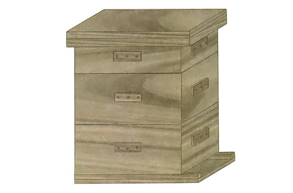Free plans to build your own Beehive.