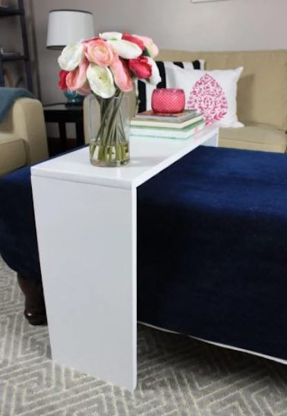 Free plans to build an Ottoman Table.