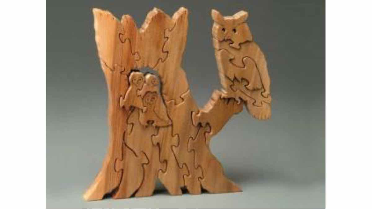 puzzles,scrollsaw,scroll saws,owls,diy,free woodworking plans,free projects,do it yourself