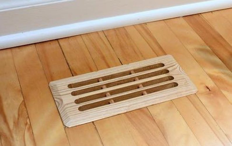 Free plans to build a Floor Vent.
