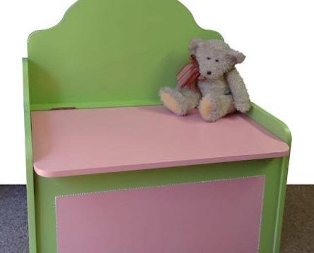 Toy Box Storage Bench
