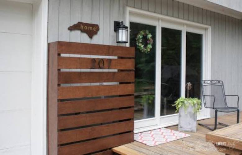 Free plans to build an Wooden Screen.
