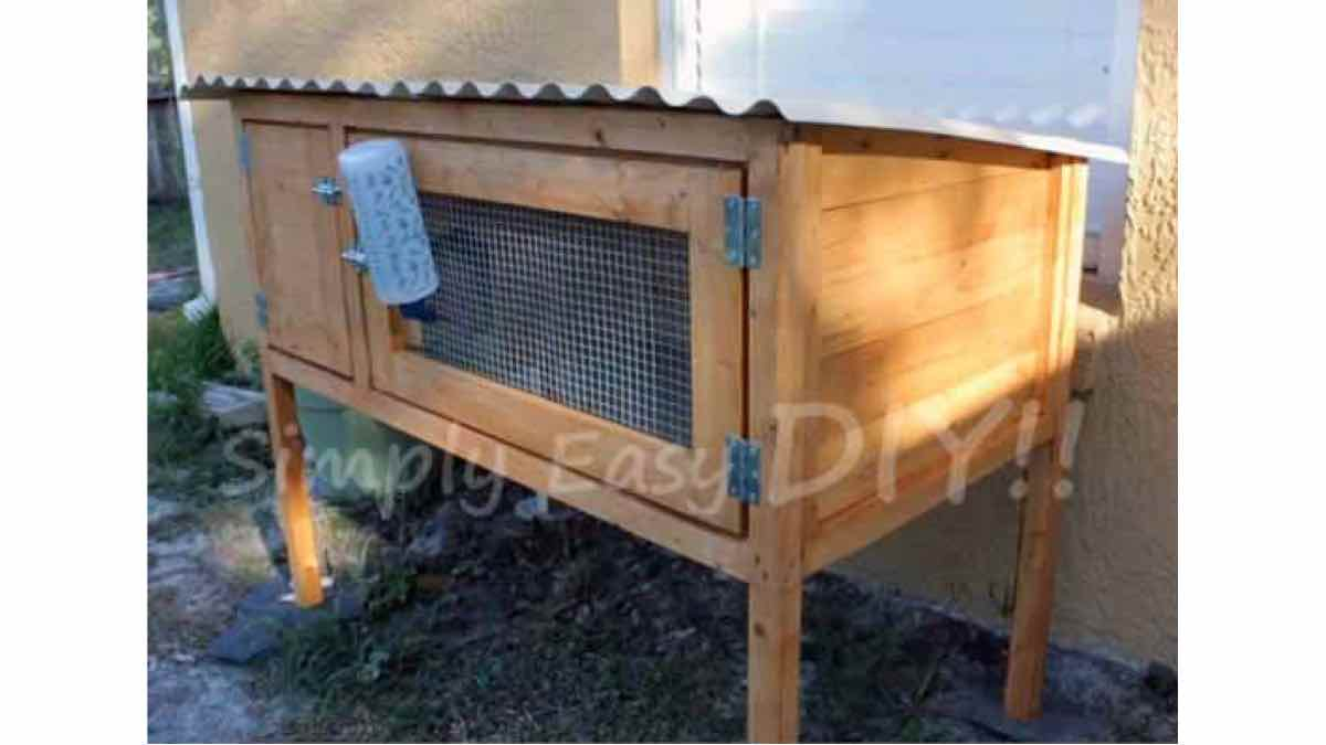 rabbit hutches,diy,free woodworking plans,free projects,do it yourself