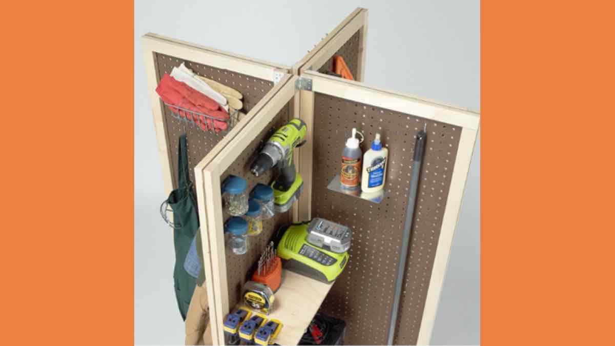 storage units,mobile,pegboard,diy,free woodworking plans,free projects,do it yourself