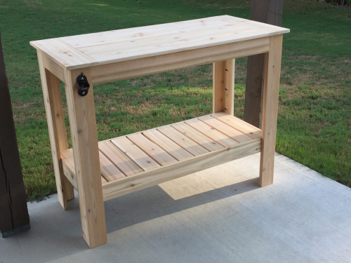 Grilling Table Free DIY Plans