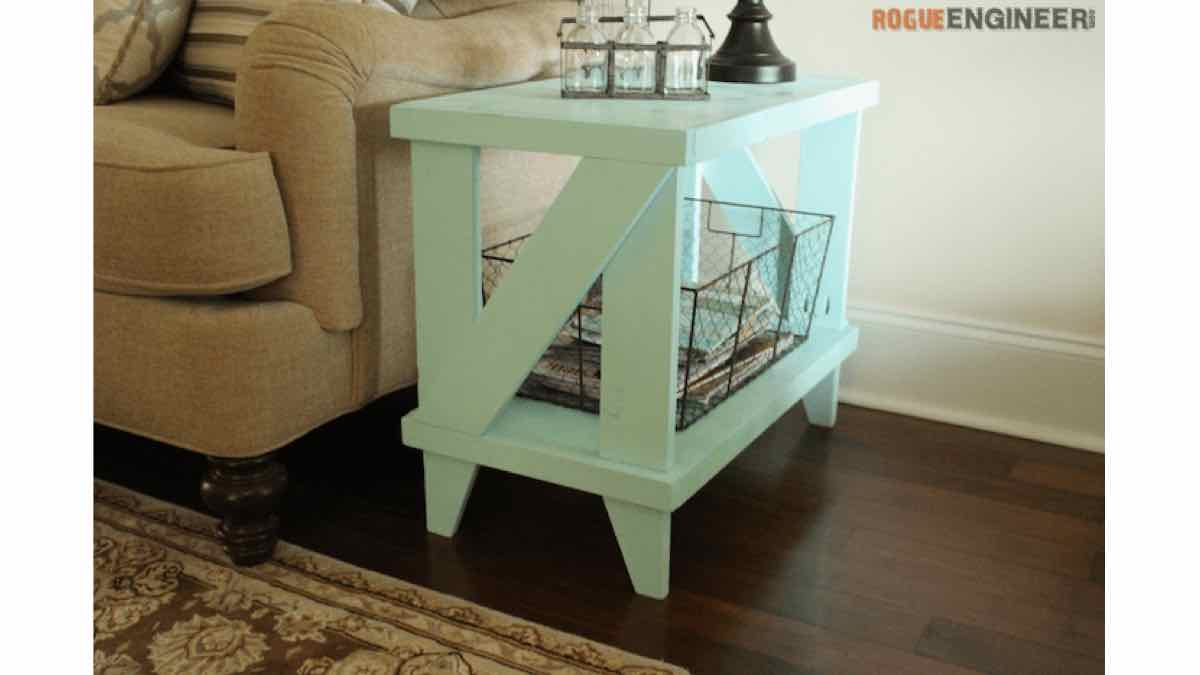 side tables,end tables,furniture,diy,free woodworking plans,free projects,do it yourself