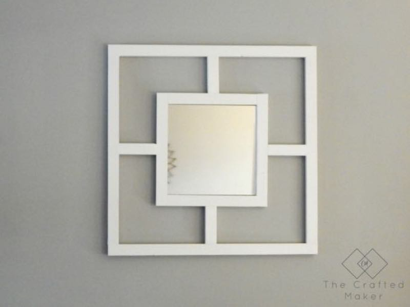 Free plans to build a Decorative Mirror.