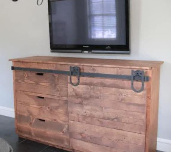 Sliding Barn Door Console PDF