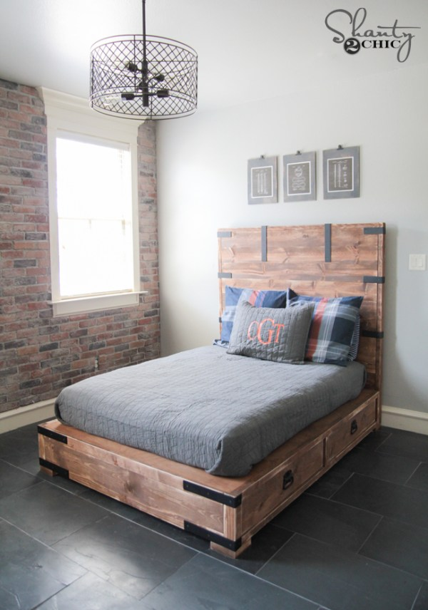 Learn how to build a Storage Bed.