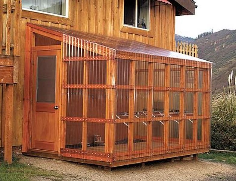 Free plans to build a Lean To Greenhouse.