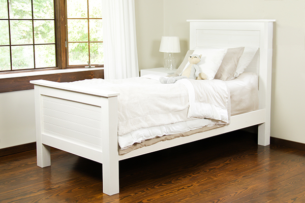 Free plans to build your own twin bed.