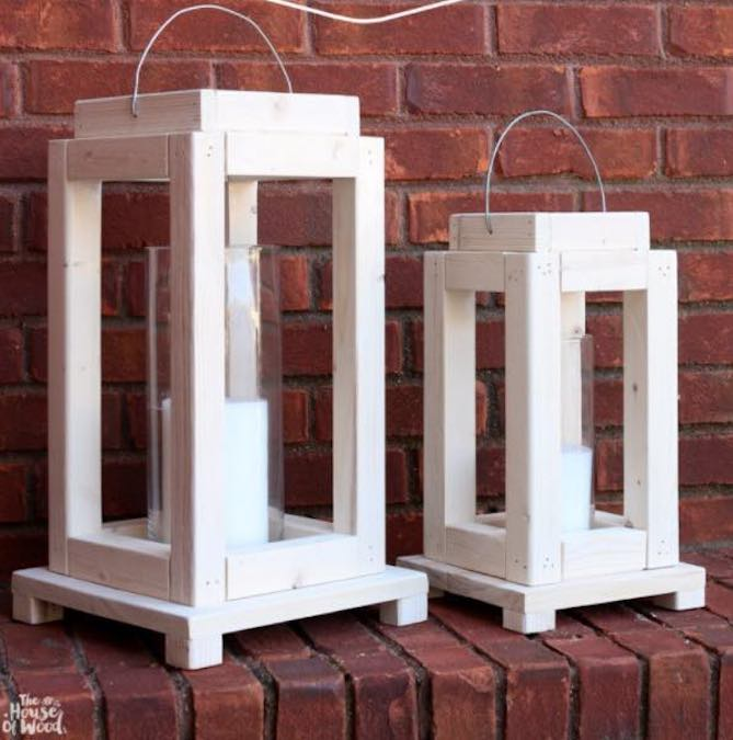 Build Lantern From Scrap Wood using free plans.
