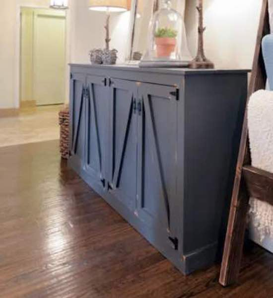 Free plans to build a Locker Cabinet.