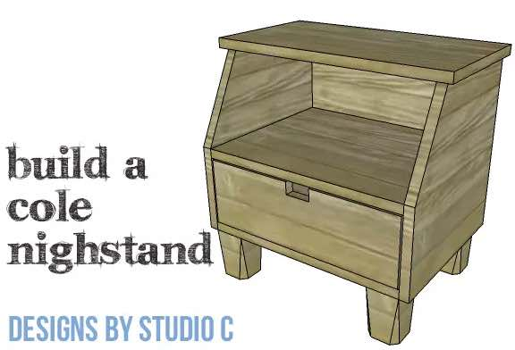 Learn how to build a compact Nightstand.