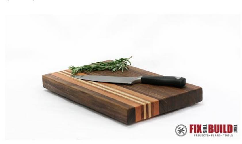 Build a Cutting Board From Scrap Wood.