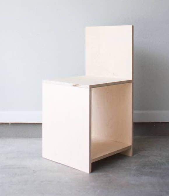 Free plans to build a Plywood Chair.