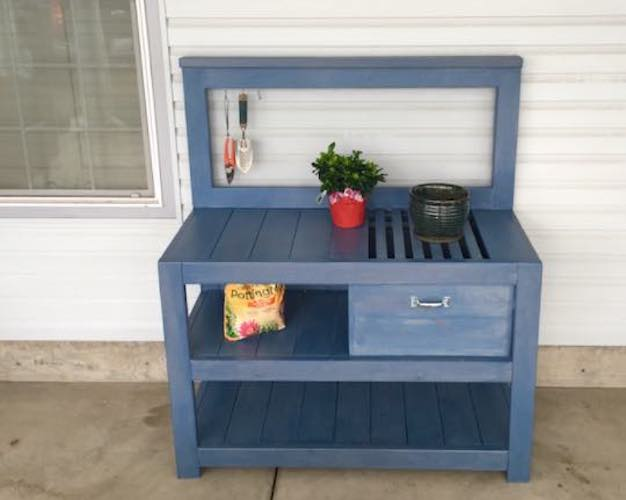 Build this Rogue Potting Bench using free plans.