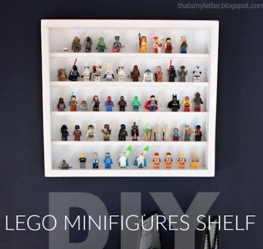 Lego Minifigures Shelf
