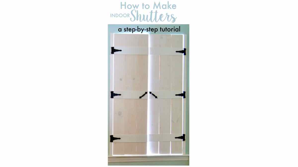 indoor shutters,wooden shutters,diy,free woodworking plans,free projects,do it yourself