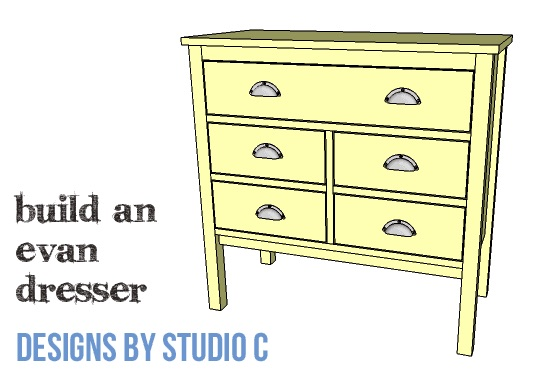 Dresser free woodworking plan.