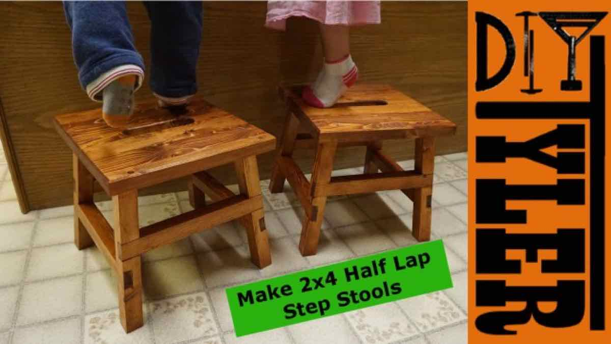 step stools,diy,free woodworking plans,free projects,do it yourself