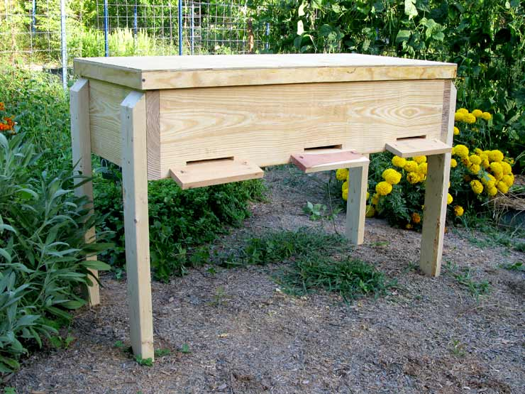 Build a Long Langstroth Hive.