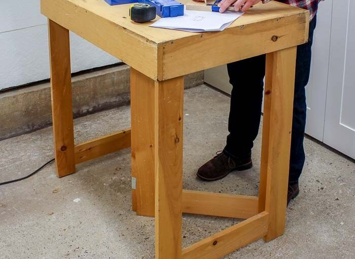 How to build a Folding Workbench free project