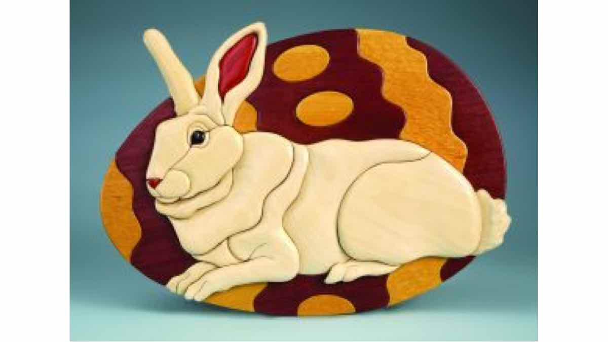 intarsia,scroll saws,easter bunnies,diy,free woodworking plans,free projects,do it yourself
