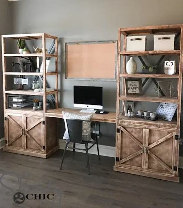 Build Desk Towers using free plans.