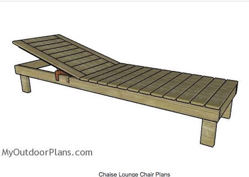 Free plans to build My Outdoor Chaise Lounge.