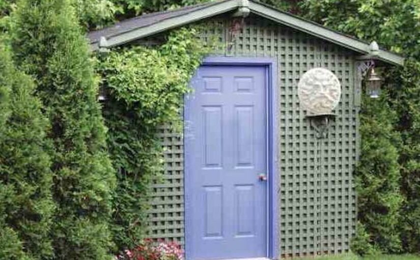 Easy Garden Shed