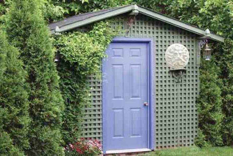 Free plans to build a Garden Shed.