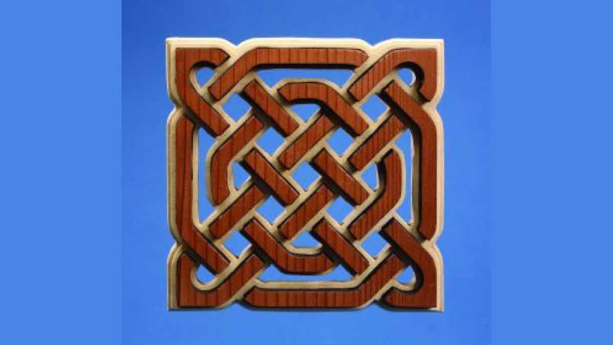 trivets,scroll saws,celtic knots,diy,free woodworking plans,free projects,do it yourself