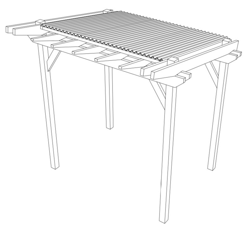 BBQ Shelter Free Project Plans