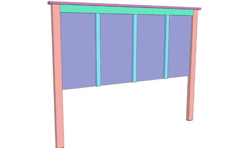 Queen Size Headboard PDF