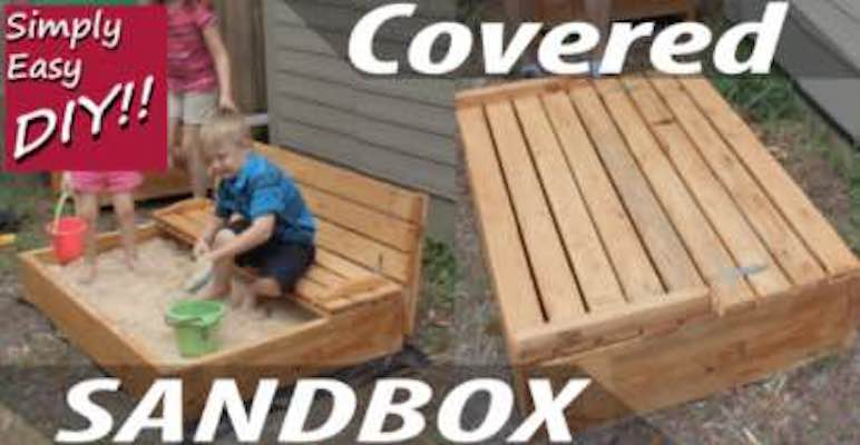 Free plans to build a Covered Sandbox.