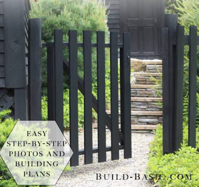 Build a Fence Gate using free plans.