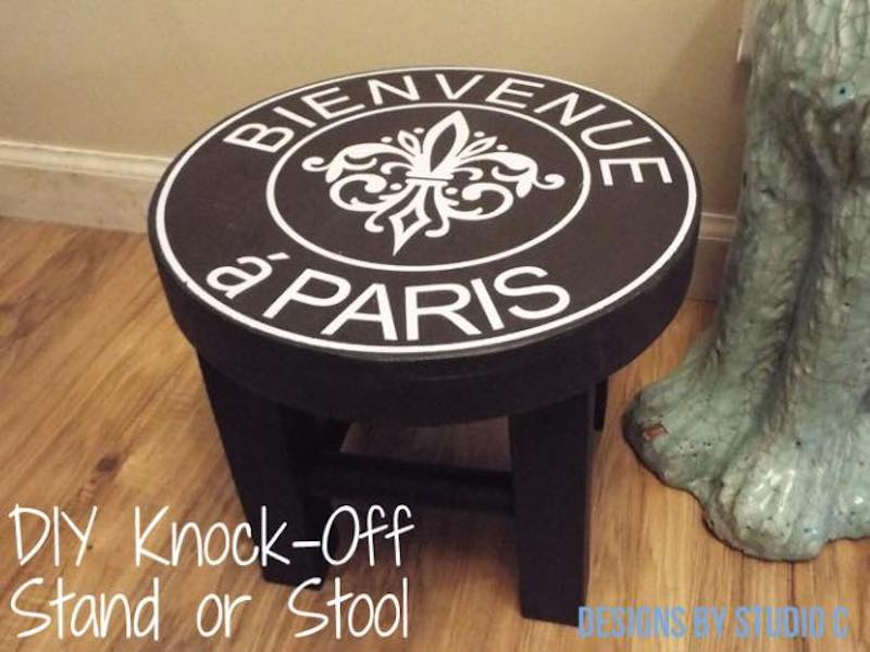 Learn how to build a Build a Footstool.