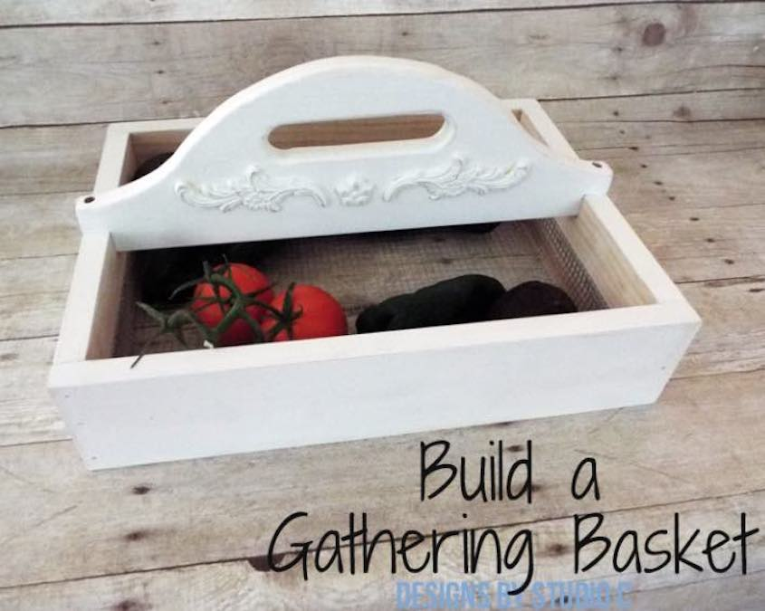 Free plans to build a Vegetable Tote.