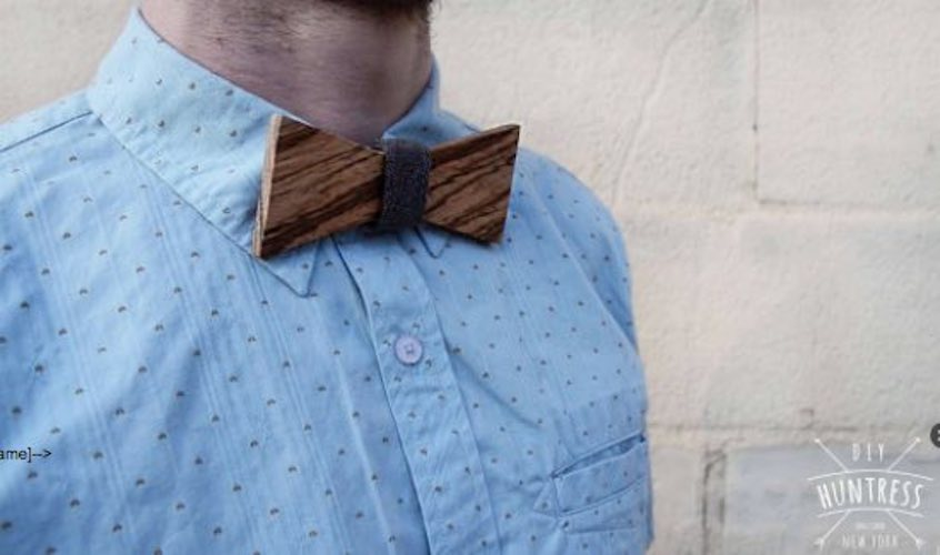 Free plans to build a wooden Bowtie.
