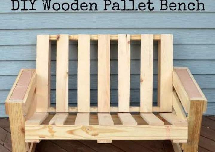 Free instructions to build your own Pallet Bench.