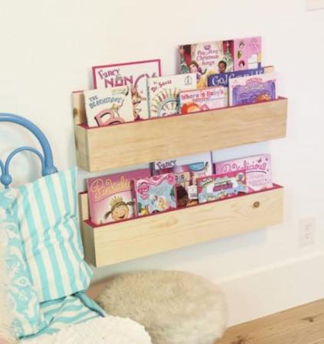 Free plans to build Pocket Shelves.