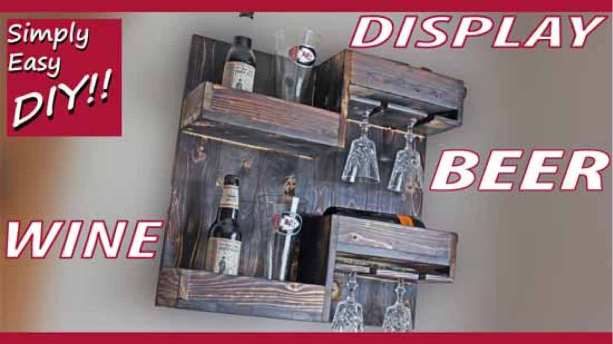 wine racks,wall mounted,diy,free woodworking plans,free projects,do it yourself