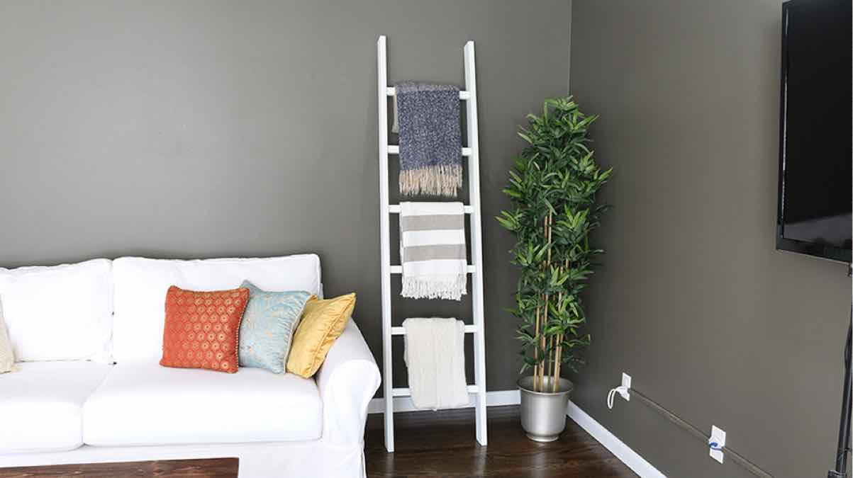blanket ladders,diy,free woodworking plans,free projects,do it yourself